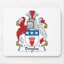 Douglas Family Crest Mousepad