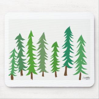 Douglas Fir Trees Mouse Pad
