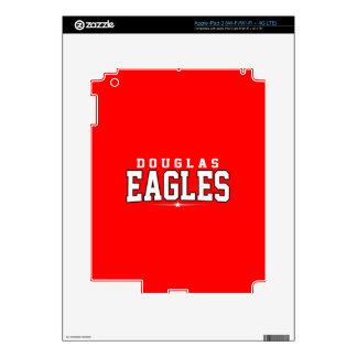 Douglas High School; Eagles Skin For iPad 3