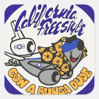 Douglas KC-10 Extender California Freestyle Square Sticker