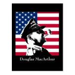Douglas MacArthur and the American Flag Postcards