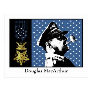 Douglas MacArthur - ganador de medalla de honor Tarjeta Postal