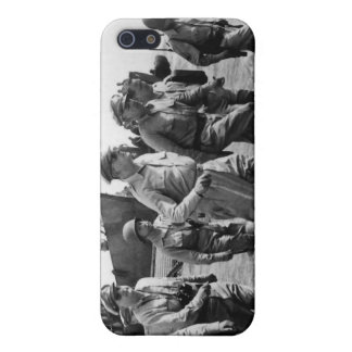Douglas MacArthur lands at Leyte Philippine Island Covers For iPhone 5