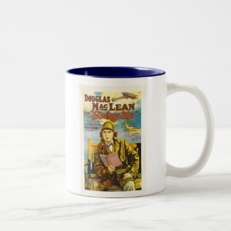 Douglas MacLean Going Up movie ad Two-Tone Coffee Mug