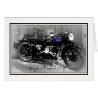 Douglas Motorcycle Card
