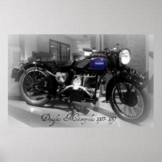Douglas Motorcycle Poster