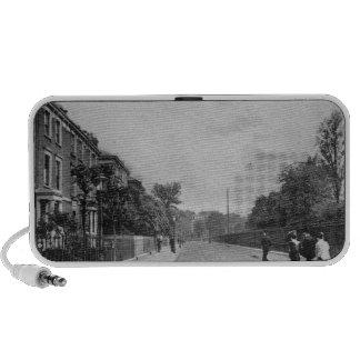 Douglas Road, Canonbury, Islington, c.1905 Laptop Speaker