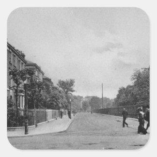 Douglas Road, Canonbury, Islington, c.1905 Square Sticker