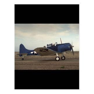 Douglas, SBD Dauntless,_Classic Aviation Postcard