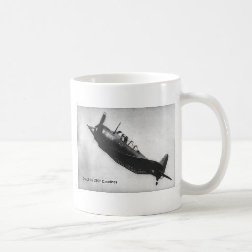 Douglas (SBD) Dauntless Classic White Coffee Mug