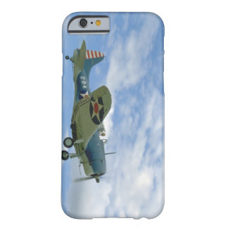 Douglas SBD Dauntless, Flying, Side_WWII Planes Barely There iPhone 6 Case