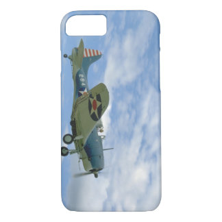 Douglas SBD Dauntless, Flying, Side_WWII Planes iPhone 8/7 Case
