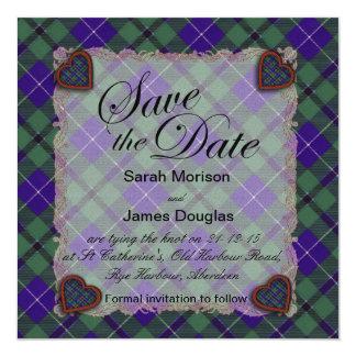 Douglas Scottish clan tartan - Plaid Card