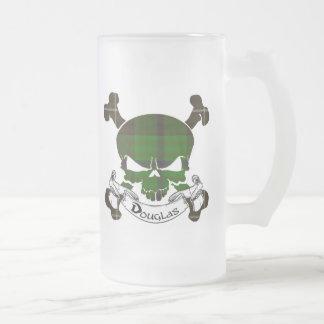 Douglas Tartan Skull Mug