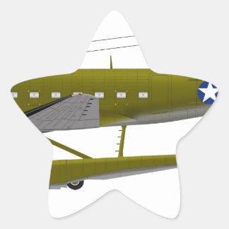 Douglas XC-47 Floats 25671 Star Sticker