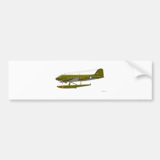 Douglas XC-47 flota 25671 Pegatina De Parachoque