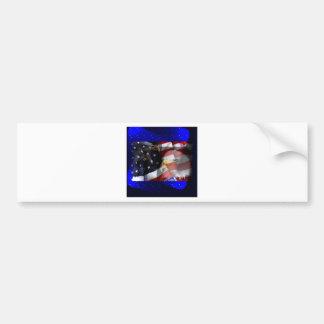 Dougle Eagles Bumper Sticker