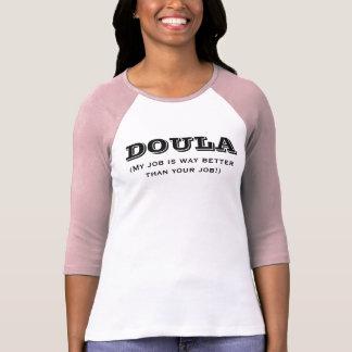 Doula es manera mejor camisetas