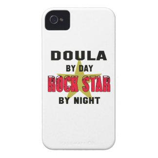 Doula por el día rockstar por noche Case-Mate iPhone 4 coberturas