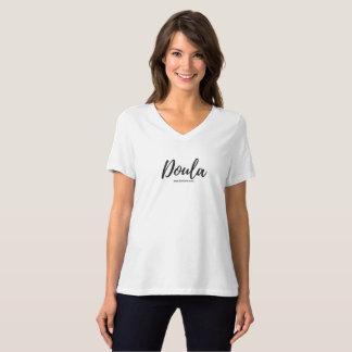 Doula V-Neck T-shirt Birth Arts International