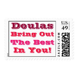"""""""Doulas pone en evidencia el mejor en usted"""" los Sellos"""