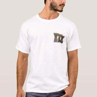 doumbek en el frente, refranes en la camiseta