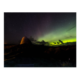 Doune Broch, Isle of Lewis and Aurora postcard