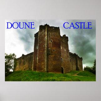 doune castle print