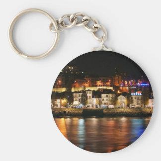 Douro river in Porto, Portugal Key Chains