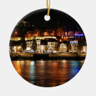 Douro river in Porto, Portugal Ornament