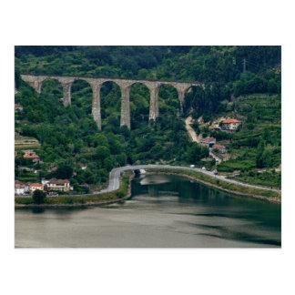 Douro Valley - Town Oliveira do Douro Postcard
