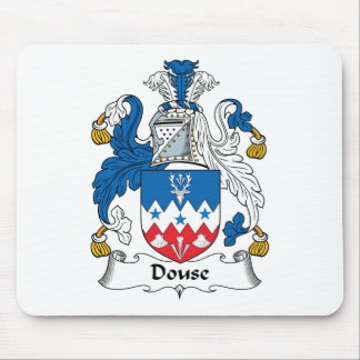 Douse el escudo de la familia alfombrilla de raton