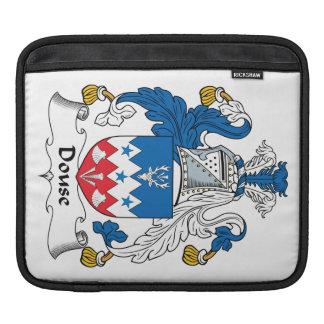 Douse el escudo de la familia funda para iPads