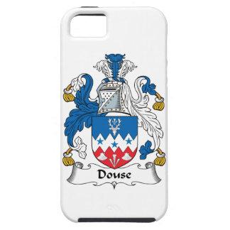 Douse el escudo de la familia iPhone 5 carcasas