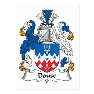 Douse el escudo de la familia postal