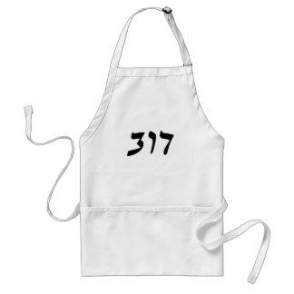 Dov - escritura de Rashi del hebreo Delantal