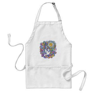 Dove (#1) adult apron