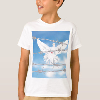 Dove and Barbed Wire T-Shirt