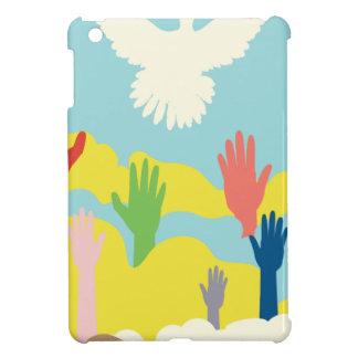 Dove and Hands iPad Mini Cases