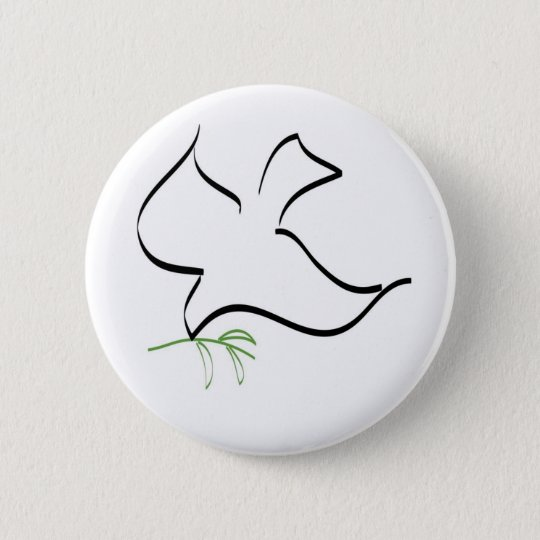 Dove and Olive Branch Image Button