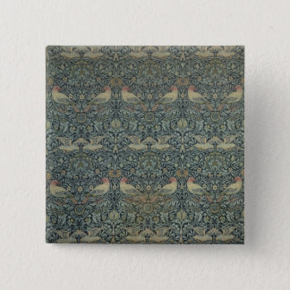 Dove and Rose' fabric design, c.1879 Pinback Button