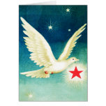 Dove and Star Greeting Card