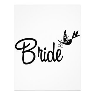 Dove & Bride Customized Letterhead