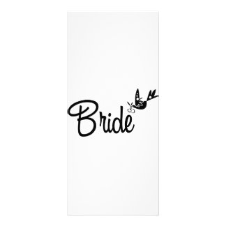 Dove & Bride Rack Card