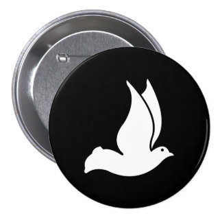 Dove Pinback Buttons