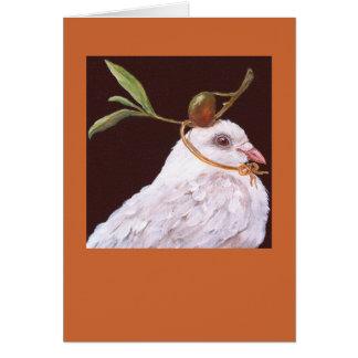 dove card(Olivia) Greeting Card