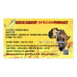 DOVE COURT AFRICAN MARKET CARD DESIGNED MY MOJISOL BUSINESS CARD