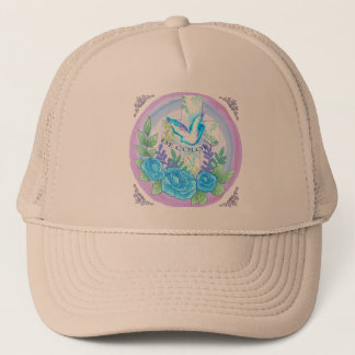 Dove Cross De Colores Trucker Hat