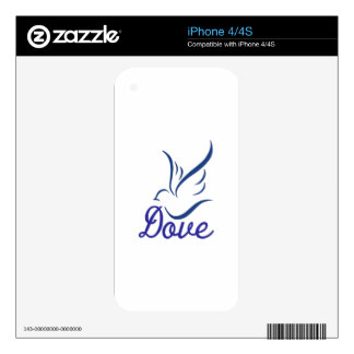 Dove Decals For iPhone 4S