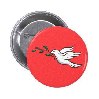 Dove designs 2 inch round button